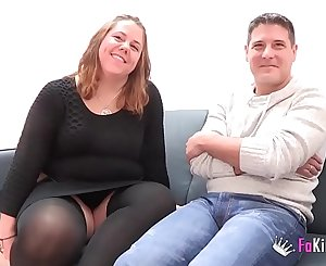 A chubby couple comes from Parejas.NET to their first pornography scene. 'My God, I am so wet'