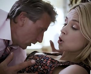 Pathetic step dad fucks his wife and step daughter in succession - Sarah Vandella and Elena Koshka - PURETABOO