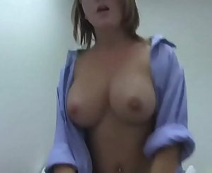 chesty big tits sister forced to have sex with real brother