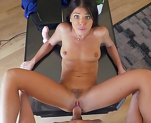 Adriana Chechik entices her therapist in this sexy clothing (amazing quality) full hard-core scene