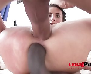 Nelly Kent hardcore DP with two monster cocks