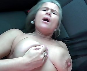 Czech mature blond squirts