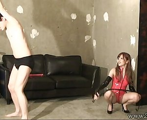 Japanese Femdom Airi Face Sitting and Candle